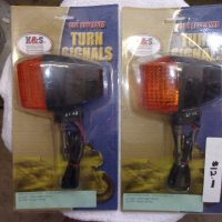 K & S TURN SIGNAL AND LENS QTY (2)