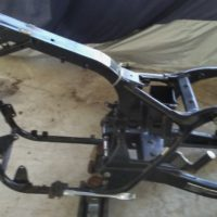 2003 Honda Shadow ACE Complete Frame with Swing Arm Swingarm Straight