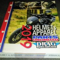 *NEW* 2019 Parts Unlimited Helmet Apparel DEALER Catalog