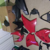 2009 Ducati 848 farings and windshield