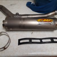 FMF Titanium 4 exhaust for Suzuki DRZ400