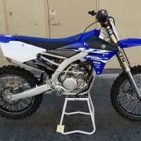 2018 YZ250F Race Spec.