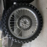 Cr250r wheel set