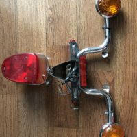 Used stop back light and turn signal light for Yamaha v-star 2001