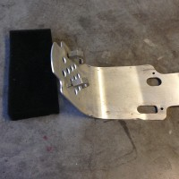 RMZ 450 Skid Plate Works Connection 08-13