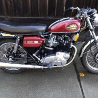 beautiful 1972 BSA Rocket 3 A75