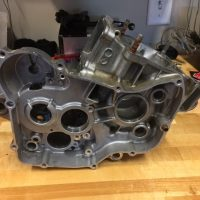 99-02 HONDA CR125R CASE HALVES