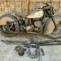 For sale is my 1942 Indian 841s mostly complete project