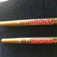 Showa A kit works suspension upper tubes