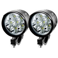 Free Shipping Brightest Cree LED Motorcycle Spotlight/Fog Lamp Pair Set On Sale