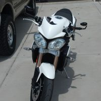 2011-2015 Triumph Speed Triple Fly Screen