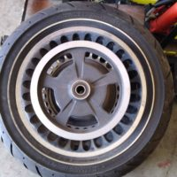 HD OEM FLH Wheel and Tire Assembly-Never used (i.e. New) For Sale