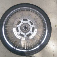 1995 Kawasaki Vulcan Vn800A model front tire with disc brake