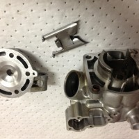 KX 85 cylinder, head and power valve