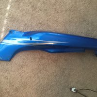 09' Kawasaki Ninja 500r Blue Right Side Fairing