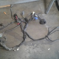 Rc51 wiring harness with turn signal and hi lo control module!