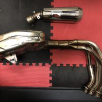 Kawasaki Exhaust (Manifold and Muffler)
