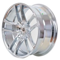 22 Inch Chrome Rims Staggered Zero | GWG Wheels