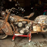 This 1940 Indian Chief project bike
