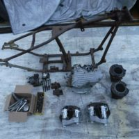 1939 Harley Davidson EL Knucklehead project bike for sale