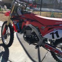 For Sale  2017 Honda crf450r