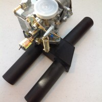 Honda Gold Wing GL1000,GL1100,GL1200 Single Carb Conversion Manifold and VW 34 PICT3 Carb