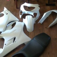 F4 fairing kit and seat