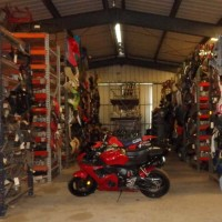 We sell new and used motorcycle, ATV, and ATC parts