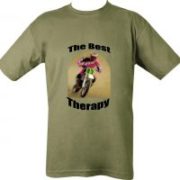 Best Therapy Motorcycle Biker T-Shirt